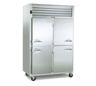 "Traulsen G22011 52"" Two Section Reach-In Freezer, (2) Solid Doors, 115v"
