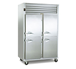 Traulsen G24307P Pass-Thru 2-Section Hot Holding Cabinet w/ Half Solid, Right, 208/115/1 V