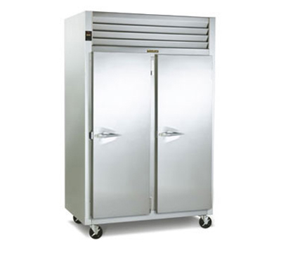 Traulsen G24317P 2-Section Pass-Thru Hot Holding Cabinet w/ Full Solid, Right, 208/115/1 V
