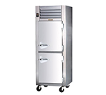 Traulsen RHF132WP-HHS 1-Section Pass-Thru Heated Cabinet w/ Half Door, 208/115 V