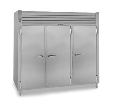 Traulsen AHF332WP-FHS 208 3-Section Pass-Thru Heated Cabinet w/ Full Solid Door, 208/115/1 V
