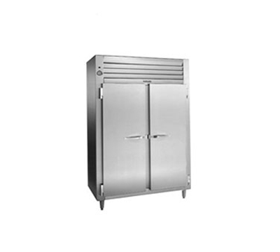 "Traulsen RET232NUT-FHS 52"" Two Section Reach-In Refrigerator, (2) Solid Door, 115v"