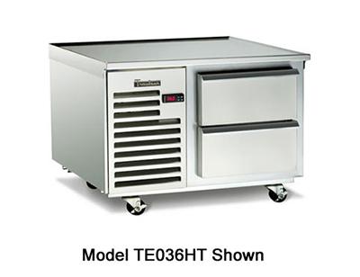 "Traulsen TE036HT 115 36"" Chef Base w/ (2) Drawers - 115v"