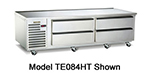"Traulsen TE084HT 115 84"" Chef Base w/ (4) Drawers - 115v"