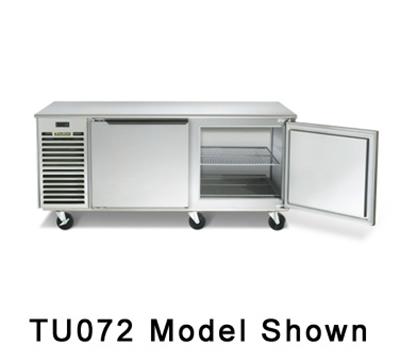 Traulsen TU072HT 20-cu ft Undercounter Refrigerator w/ (2) Sections & (2) Doors, 115v