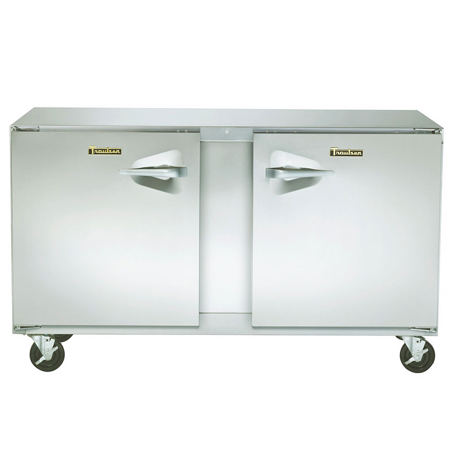 Traulsen UHT48-LR 13.1-cu ft Undercounter Refrigerator w/ (2) Sections & (2) Doors, 115v