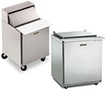 "Traulsen UPT7212-LR-SB 72"" Sandwich/Salad Prep Table w/ Refrigerated Base, 115v"