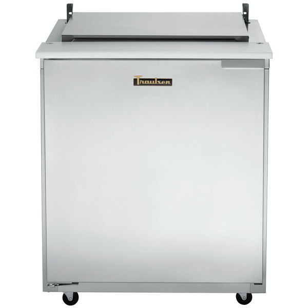 "Traulsen UST276-R 27"" Sandwich/Salad Prep Table w/ Refrigerated Base, 115v"