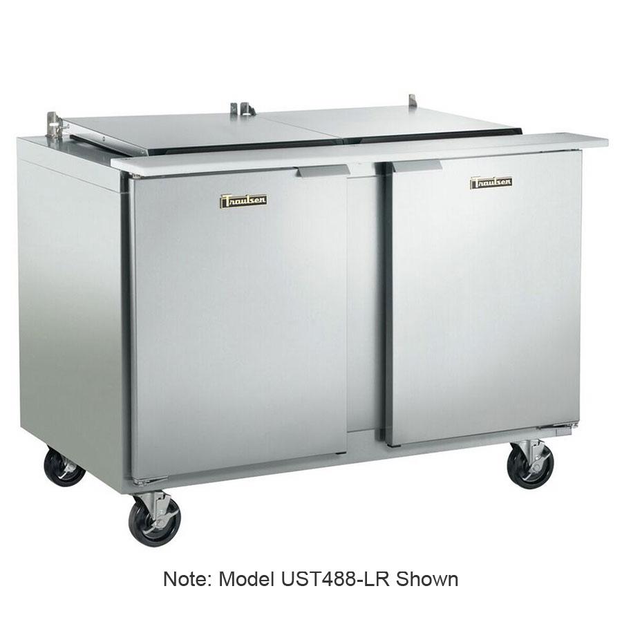 """Traulsen UST6024-LL-SB 60"""" Sandwich/Salad Prep Table w/ Refrigerated Base, 115v"""
