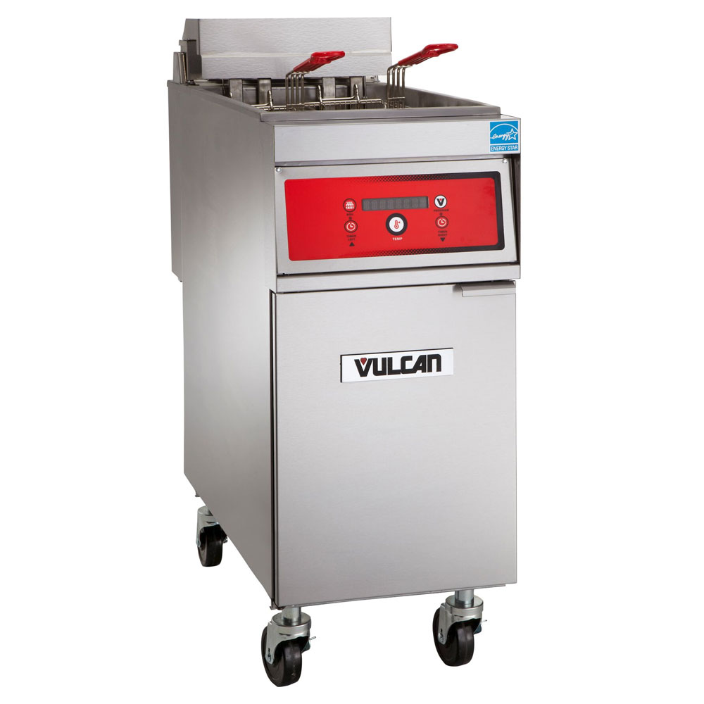 Vulcan-Hart 1ER50D Electric Fryer - (1) 50-lb Vat, Floor Model, 208v/50-60/3ph