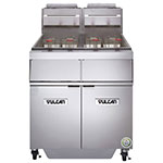 Vulcan-Hart 2GR45MF Gas Fryer - (2) 50-lb Vats, Floor-Model, LP