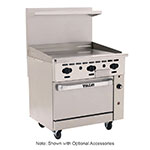 "Vulcan-Hart 36C-36G 36"" Gas Range with Griddle, LP"