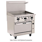 "Vulcan-hart 36S-36GT 36"" Gas Range with Griddle, NG"
