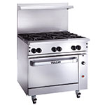 "Vulcan-Hart 36S-6B 36"" 6-Burner Gas Range, NG"