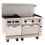 "Vulcan-Hart 60SC-4B36GT 60"" 4-Burner Gas Range with Griddle, LP"
