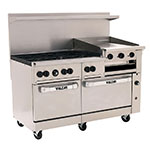 "Vulcan-Hart 60SC-6B24GB 60"" 6-Burner Gas Range with Griddle & Broiler, NG"