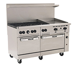 "Vulcan-hart 60SS6B24G 60"" 6-Burner Gas Range with Griddle, NG"