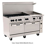"Vulcan 60SS-6B24G 60"" 6-Burner Gas Range with Griddle, LP"