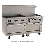 "Vulcan-Hart 72SS-6B-36GT 72"" 6-Burner Gas Range with Griddle, NG"