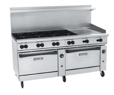 Vulcan-Hart 72 in Endurance Restaurant Range 8 Burners Restaurant Supply