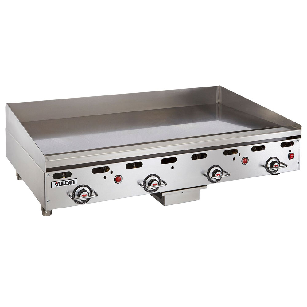 "Vulcan-Hart 948RX 48"" Gas Griddle - Thermostatic, 1"" Steel Plate, NG"