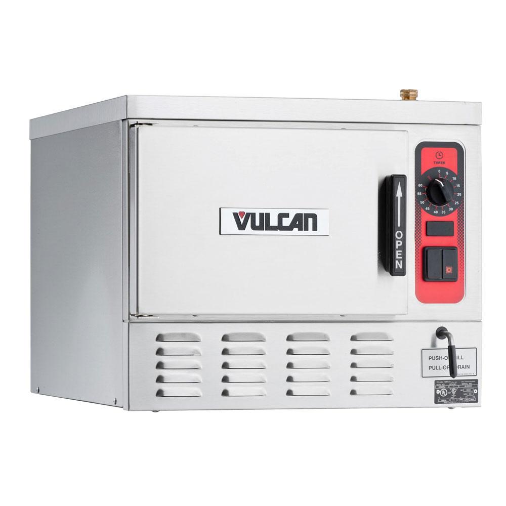 Vulcan-Hart C24EA3 Electric Countertop Steamer w/ (3) Full Size Pan Capacity, 240v/1ph