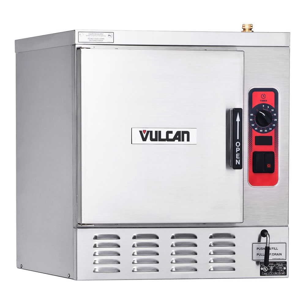 Vulcan-Hart C24EA5 Electric Countertop Steamer w/ (5) Full Size Pan Capacity, 208v/1ph