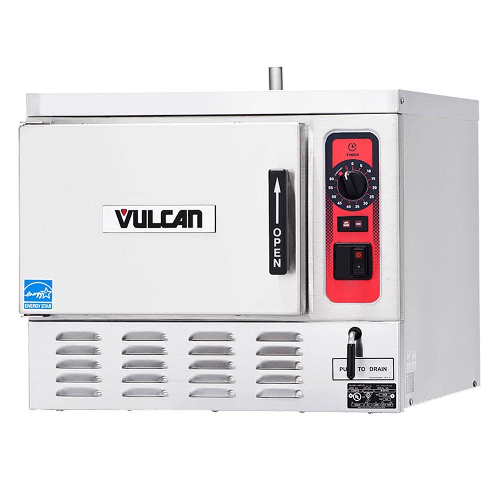 Vulcan C24EO3 Electric Countertop Steamer w/ (3) Full Size Pan Capacity, 240v/3ph