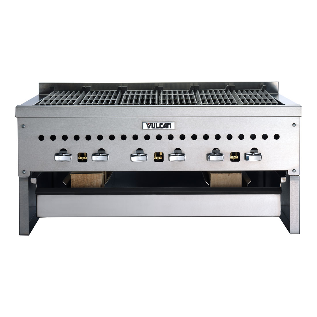 Vulcan-Hart CTSMOKER-VCCB25 Wood Assist Low Profile Smoker Base w/ (1) Grease Tray, Stainless