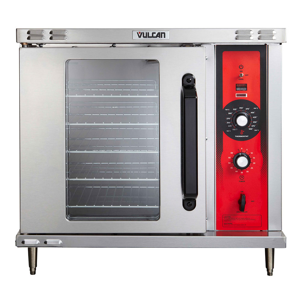 Vulcan-Hart ECO2D Half Size Electric Convection Oven, 208v/3ph