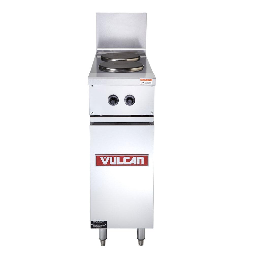 """Vulcan EV12-2FP-240 12"""" 2-Sealed Element Electric Range, 240v/1ph"""