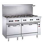 "Vulcan-Hart EV60-SS-10FP-208 60"" 10-Sealed Element Electric Range, 208v/1ph"