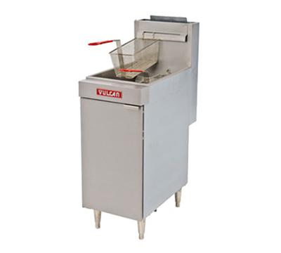 Vulcan-Hart LG400 Gas Fryer - (1) 50-lb Vat, Floor Model, LP