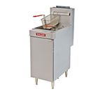 Vulcan LG500 Gas Fryer - (1) 70-lb Vat, Floor Model, NG