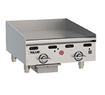 "Vulcan-Hart MSA24-30 LP 24"" Gas Griddle - Thermostatic, 1"" Steel Plate, LP"