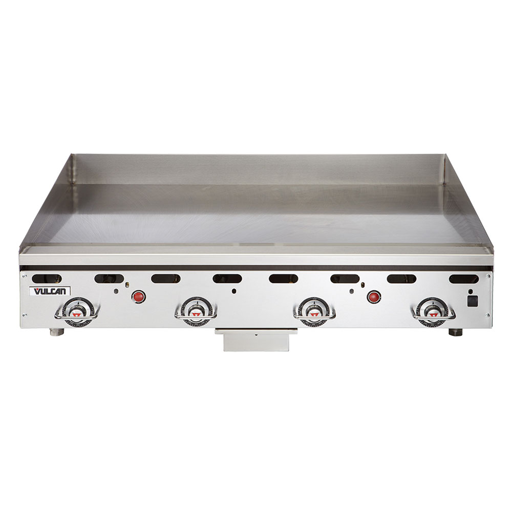 "Vulcan-Hart MSA48LP 48"" Gas Griddle - Thermostatic, 1"" Steel Plate, LP"