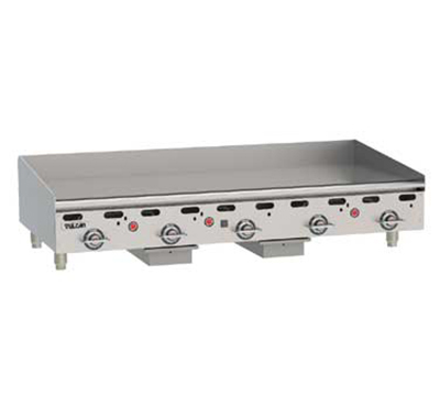 "Vulcan-Hart MSA60-30 NG 60"" Gas Griddle - Thermostatic, 1"" Steel Plate, NG"