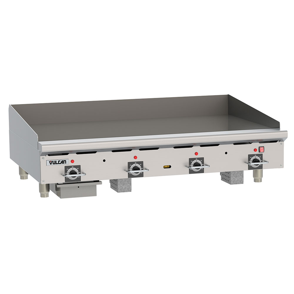 """Vulcan RRE48D 48"""" Electric Griddle - Thermostatic, 3/4"""" Steel Plate, 208v/3ph"""
