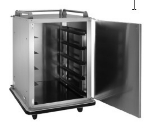 Vulcan RS-10 10-Tray Cabinet Room Service Cart, Stainless