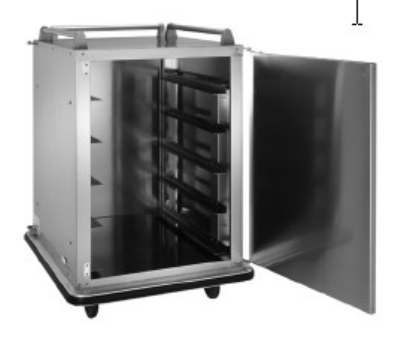 Vulcan-Hart RS-10 10-Tray Cabinet Room Service Cart, Stainless