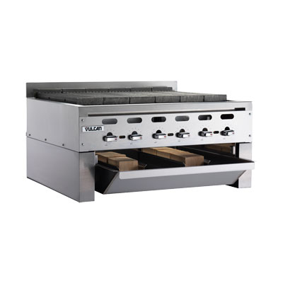 Vulcan-Hart SMOKER-VACB47 Wood Assist Achiever Smoker Base w/ (2) Grease Trays, Stainless