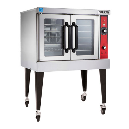 Vulcan-Hart VC3E 208 Full Size Electric Convection Oven - 208v/1ph