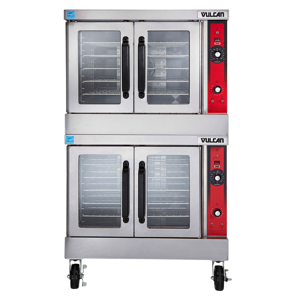 Vulcan VC44GD Double Full Size Gas Convection Oven - NG