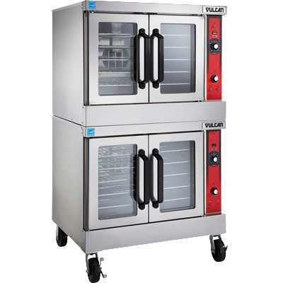 Vulcan Hart VC66ED Double Full Size Electric Convection O...