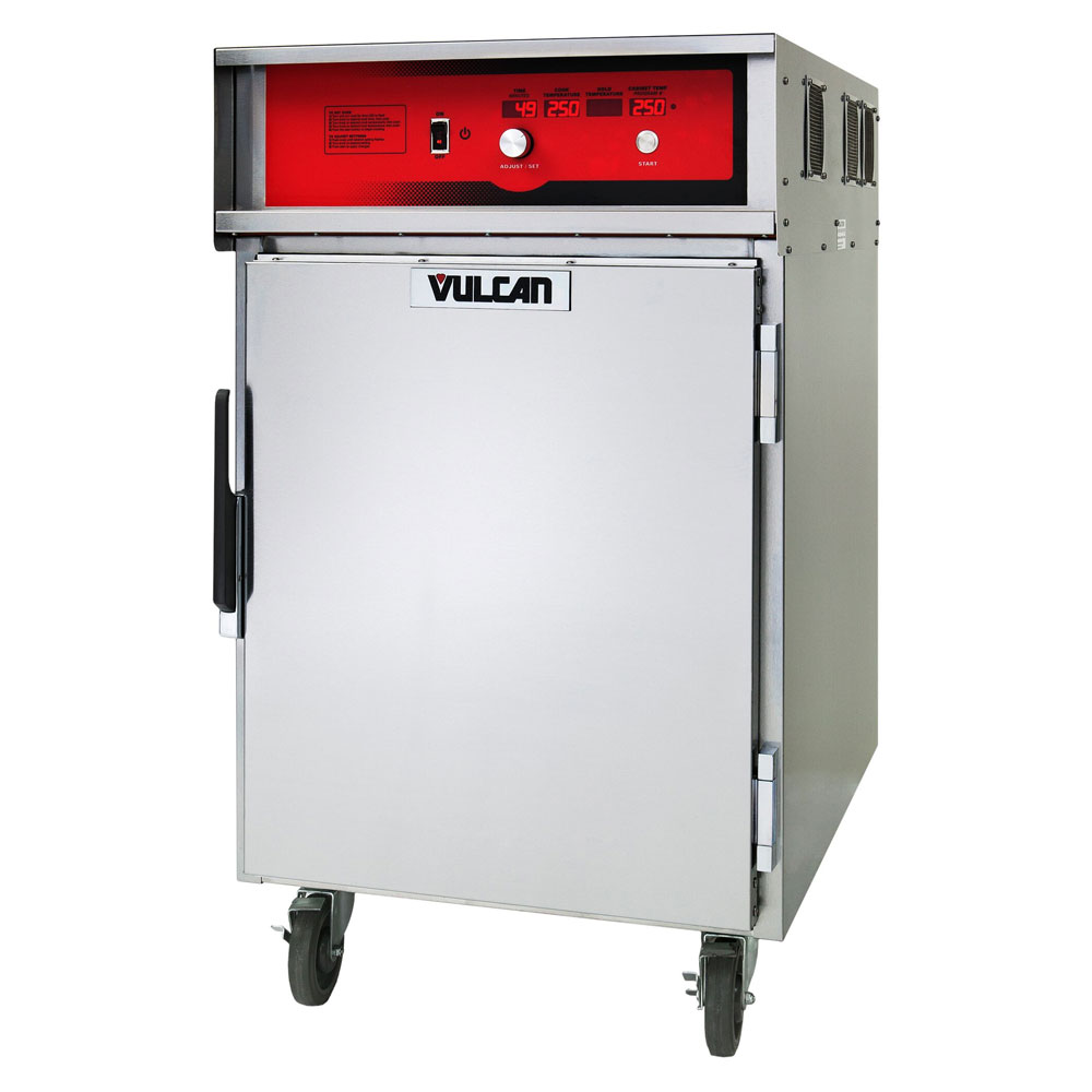 Vulcan VCH8 1/2-Height Mobile Heated Cabinet w/ (8) Pan Capacity, 208v/1ph