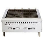 "Vulcan-Hart VCRB25 25-3/8"" Charbroiler, Countertop w/ 4-Cast Iron Burners, LP"