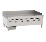 "Vulcan-Hart VCRG36MNG 36"" Gas Griddle - Manual, 1"" Steel Plate, NG"