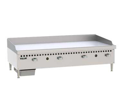 "Vulcan-Hart VCRG48MLP 48"" Gas Griddle - Manual, 1"" Steel Plate, LP"