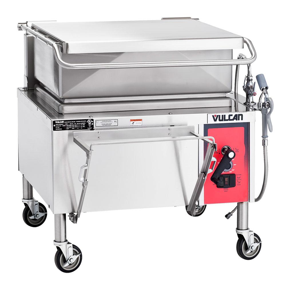 "Vulcan-Hart VE30 36"" Braising Pan w/ 30-Gallon Capacity, Manual Tilt, 240/3 V"