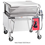 "Vulcan-Hart VG40 46"" Braising Pan w/ 40-Gallon Capacity, Manual Tilt, NG"